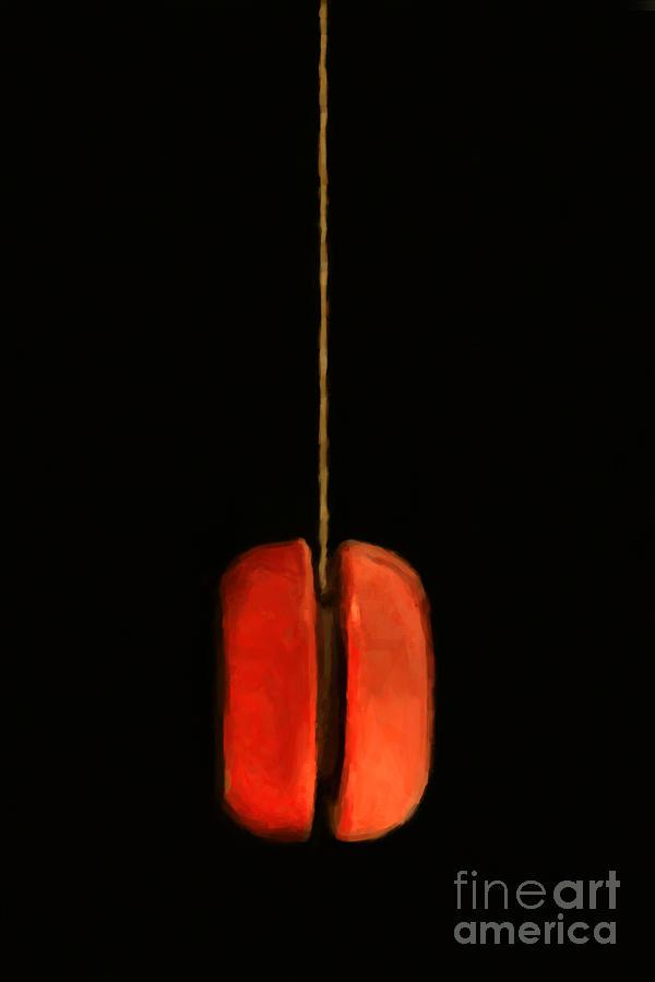 Toy Photograph - Yo-yo - Painterly by Wingsdomain Art and Photography