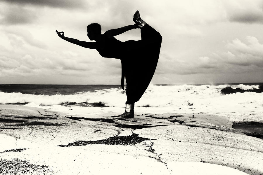 Adult Photograph - Yoga Balance by Stelios Kleanthous