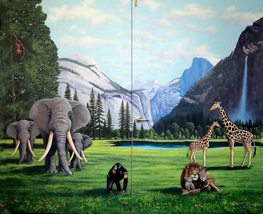 Frank Wilson Painting - Yosemite Dreams by Frank Wilson