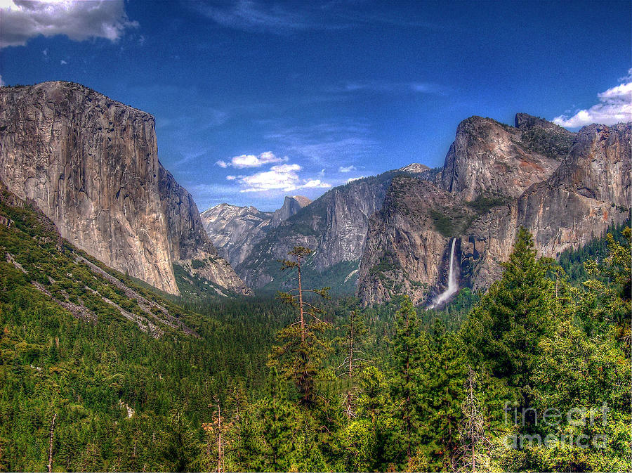 Yosemite Photograph - Yosemite Valley by Morgan Wright