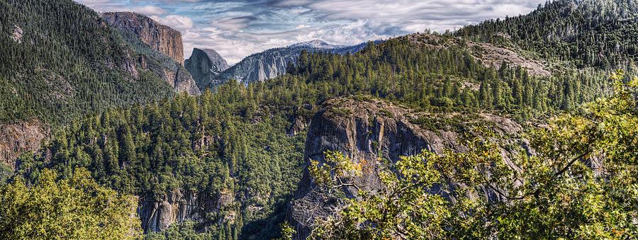 El Capitan Photograph - Yosemite Valley by Stephen Campbell