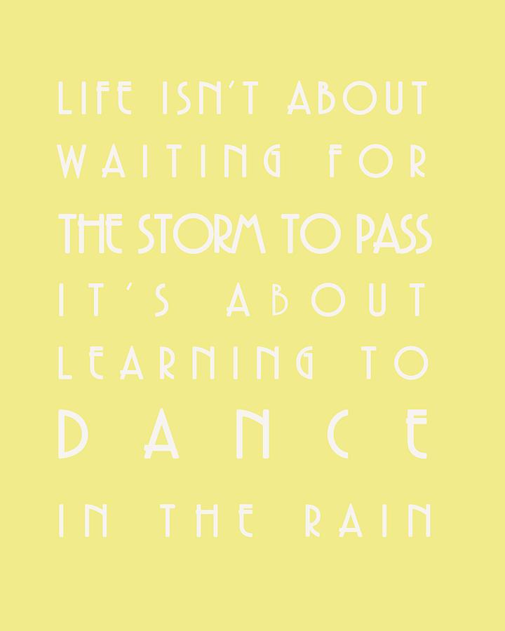 Dance Digital Art - You Can Dance In The Rain by Georgia Fowler