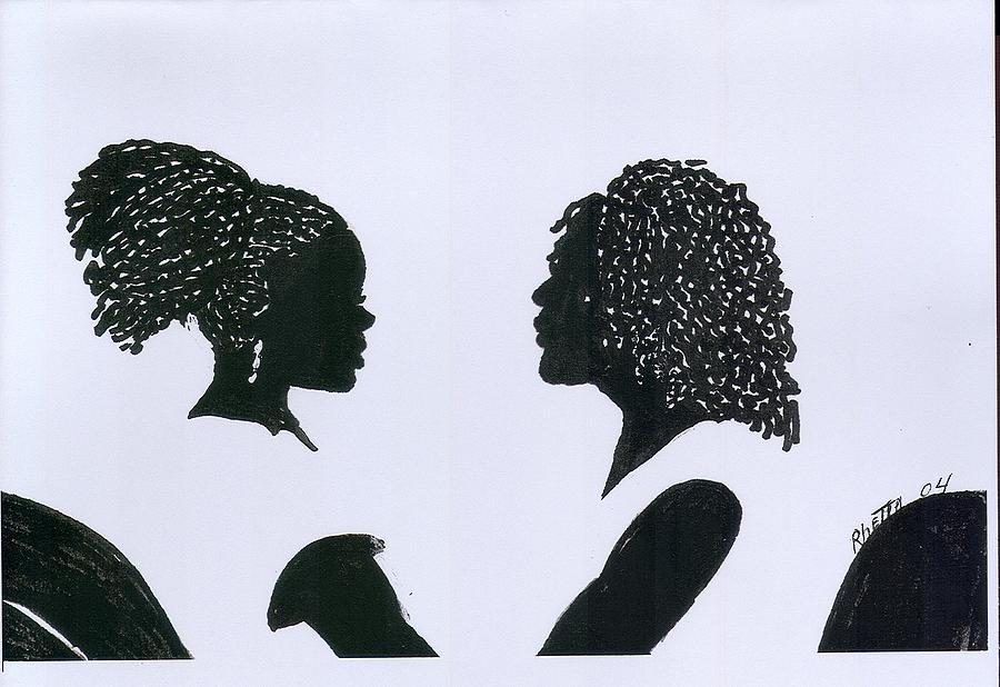 Women Drawing - You Can Do It by Rhetta Hughes