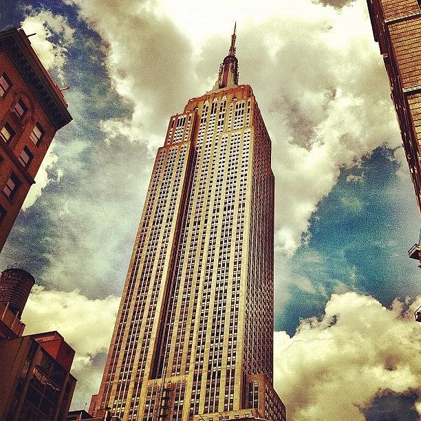 Building Photograph - You Know What This Thing Is. #nyc by Luke Kingma