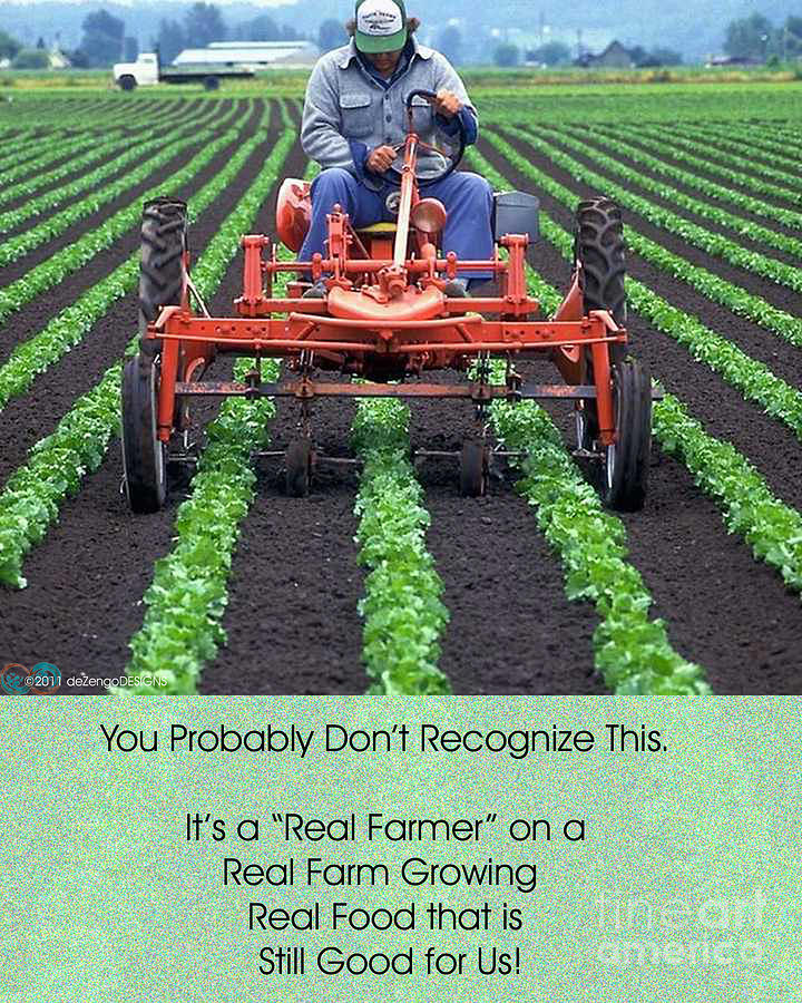 Farmers Digital Art - You Might Not Recognize This by DeZengo Moore