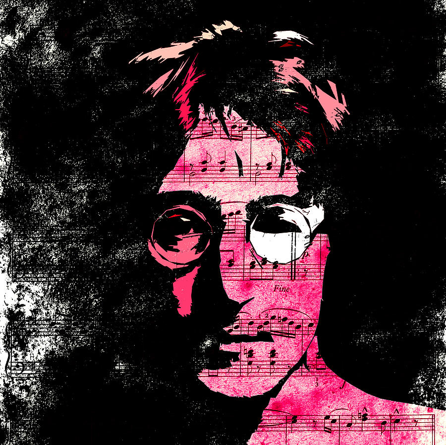 John Lennon Dreamer Not The Only One Beatle Beatles Song Songwriter Dream Digital Art - You Say I Am A Dreamer by Steve K
