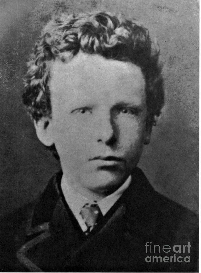 History Photograph - Young Vincent Van Gogh, Dutch Painter by Photo Researchers
