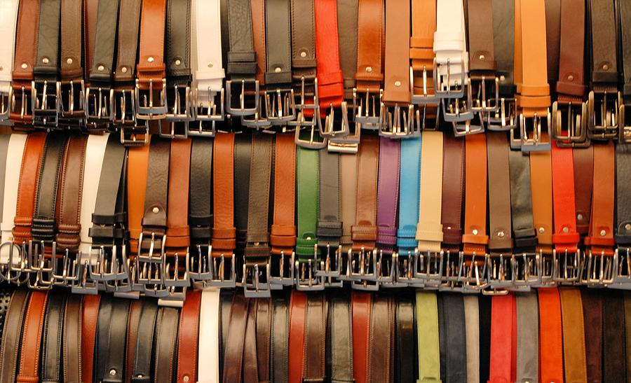 Belts Photograph - Your Choice by