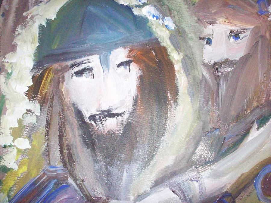 Vikings Painting - Youwash And Lwilldry by Judith Desrosiers