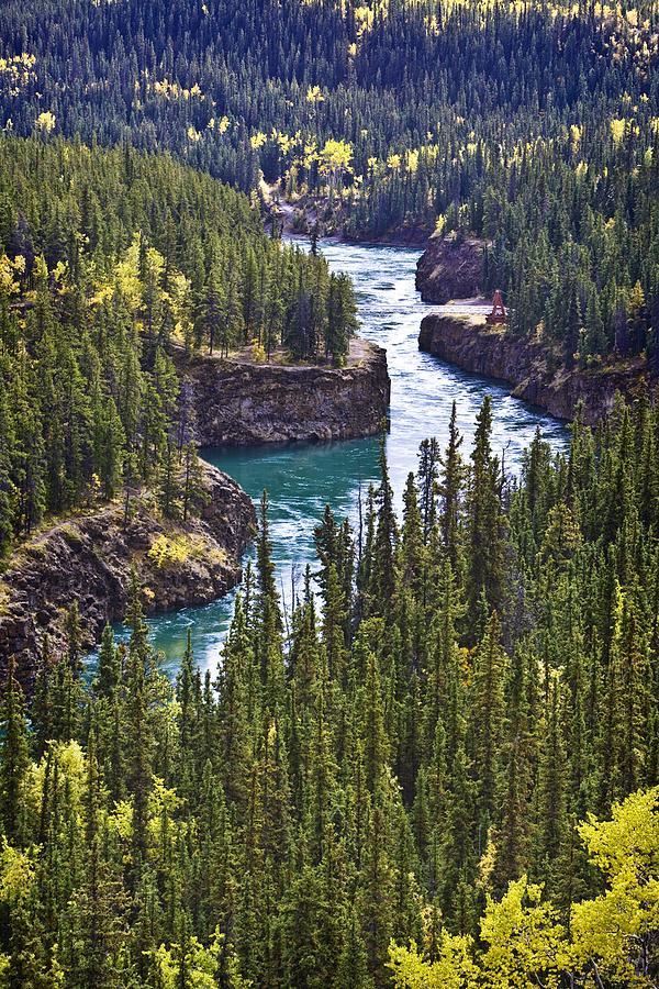 Body Of Water Photograph - Yukon Territory, Canada by Richard Wear