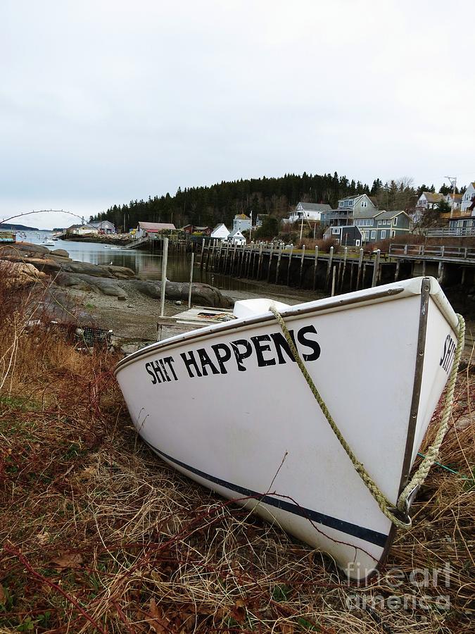 Boat Photograph - Yup. by Sarah Burrin