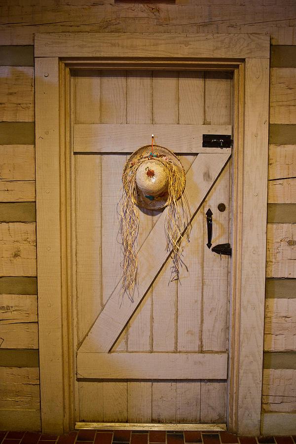 Door Photograph - Z Door by Douglas Barnett & Z Door Photograph by Douglas Barnett