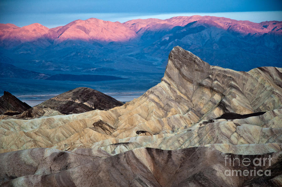 Park Photograph - Zabriskie Point Dawn by Jim Chamberlain