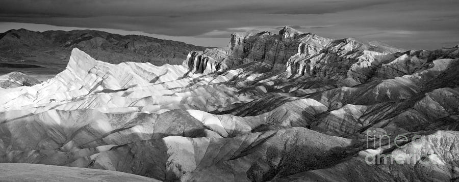 Park Photograph - Zabriskie Point Panorama by Jim Chamberlain