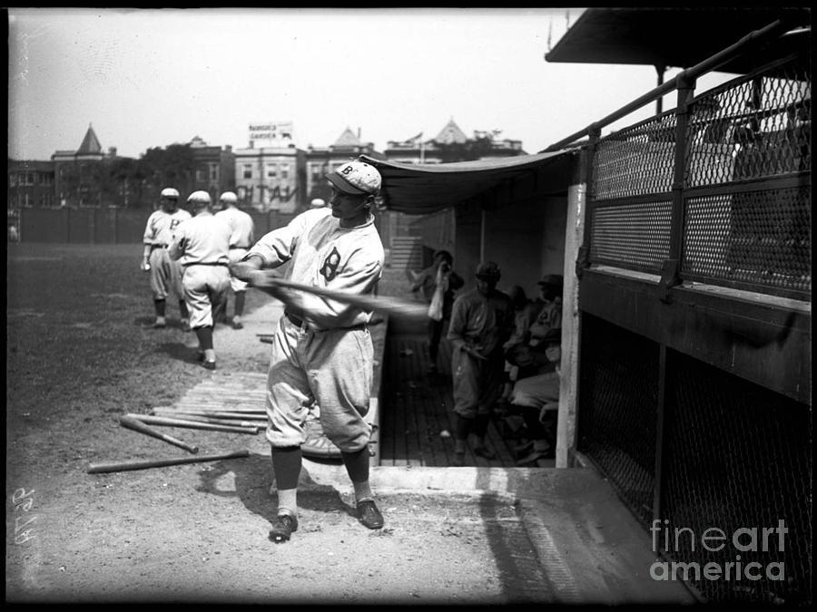 Baseball Photograph - Zack Wheat - Brooklyn Robins by David Bearden