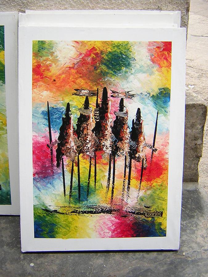 Zanzibar Art Painting by Endelea
