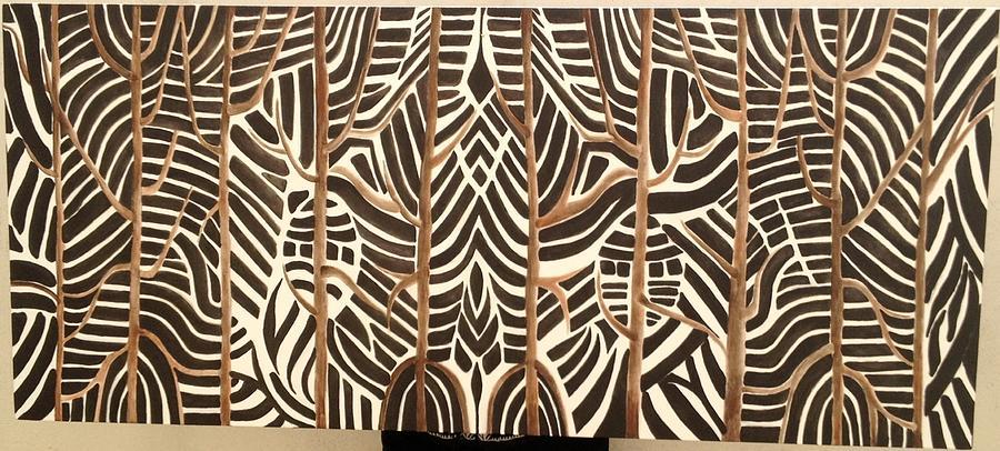 Zebra Painting - Zebras by Ana  Loyola