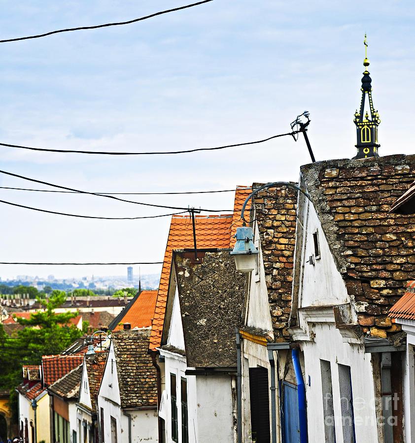 Roofs Photograph - Zemun Rooftops In Belgrade by Elena Elisseeva