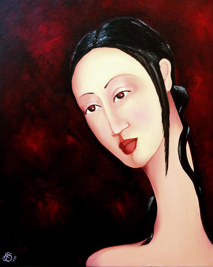 Zen Painting - Zen 2010 by Simona  Mereu