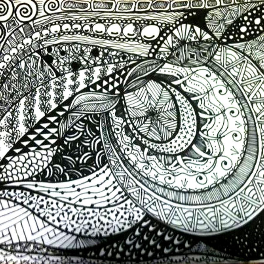 Zentangle - Harmony