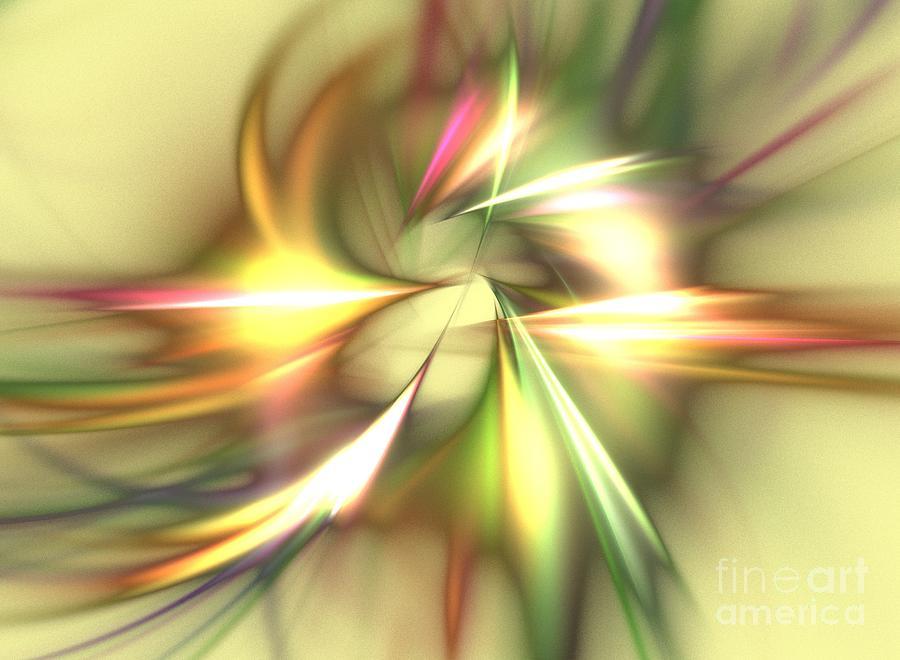 Apophysis Digital Art - Zeus by Kim Sy Ok