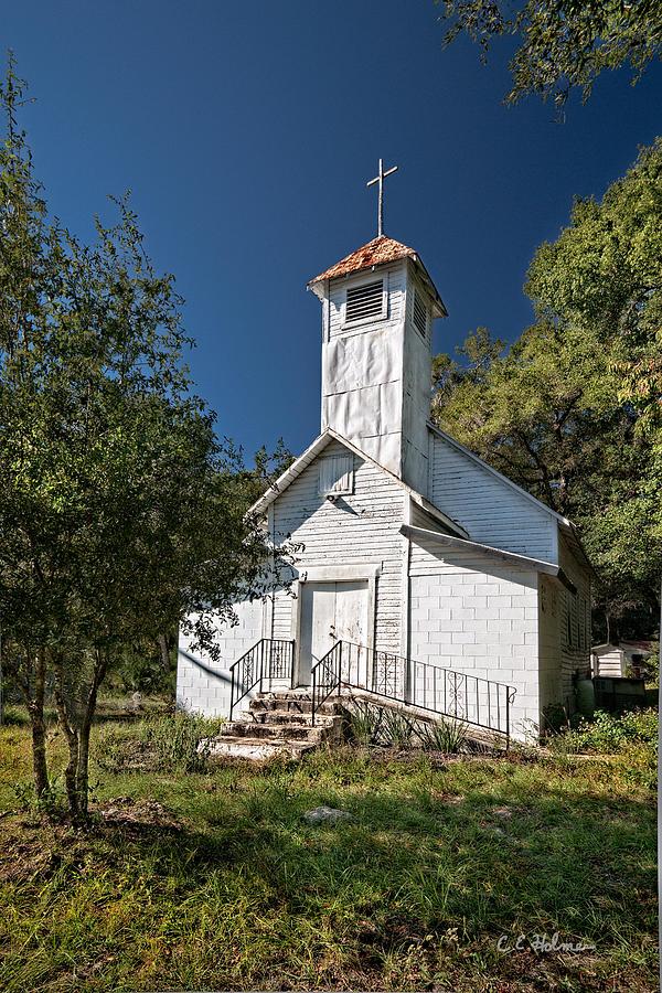 Church Photograph - Zion Baptist Church by Christopher Holmes