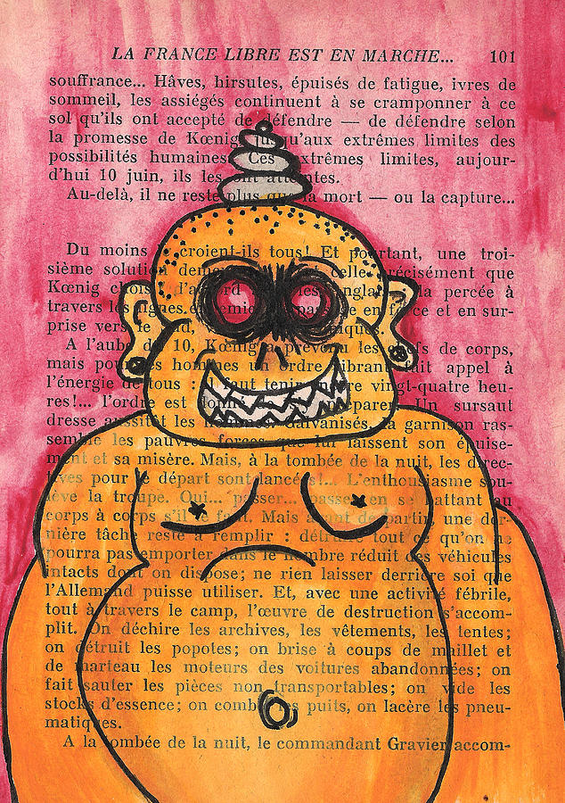 Zombie Mixed Media - Zombie Buddha by Jera Sky