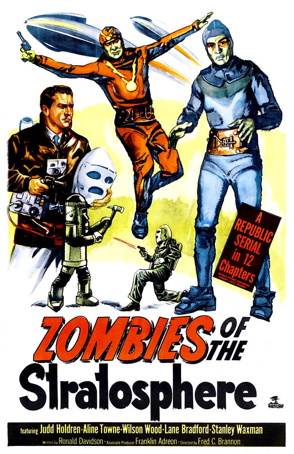 1952 Movies Photograph - Zombies Of The Stratosphere, 1952 by Everett