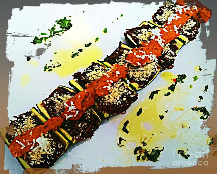 Zucchini Bowls Photograph by Ankeeta Bansal