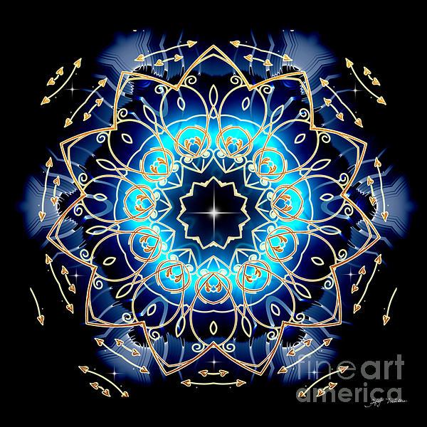 Heinz G Mielke -  Mandala Abstract