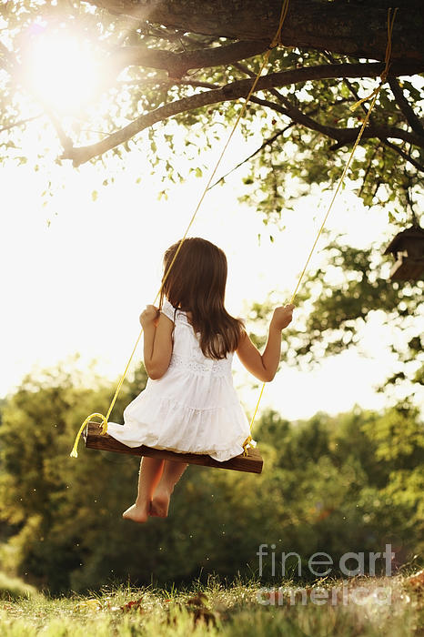 Stephanie Frey - Child on Swing