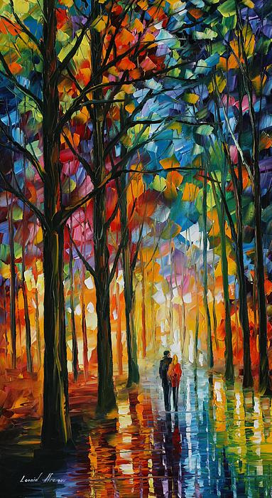 Leonid Afremov - Date In The Park