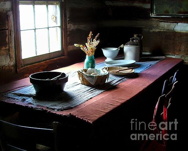 Julie Dant - Old Cabin Table