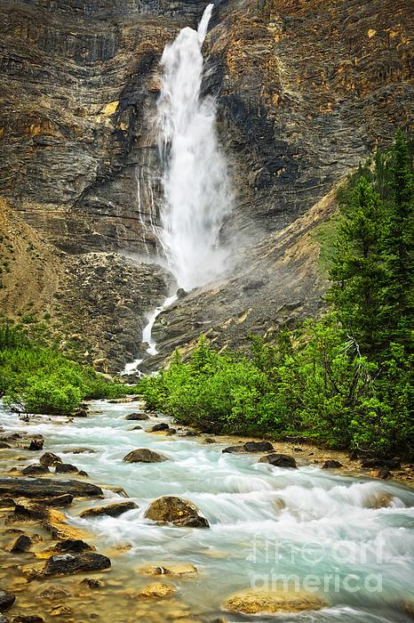 Elena Elisseeva - Takakkaw Falls waterfall in Yoho National Park Canada