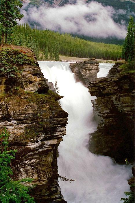 Shirley Sirois - Athabasca Falls