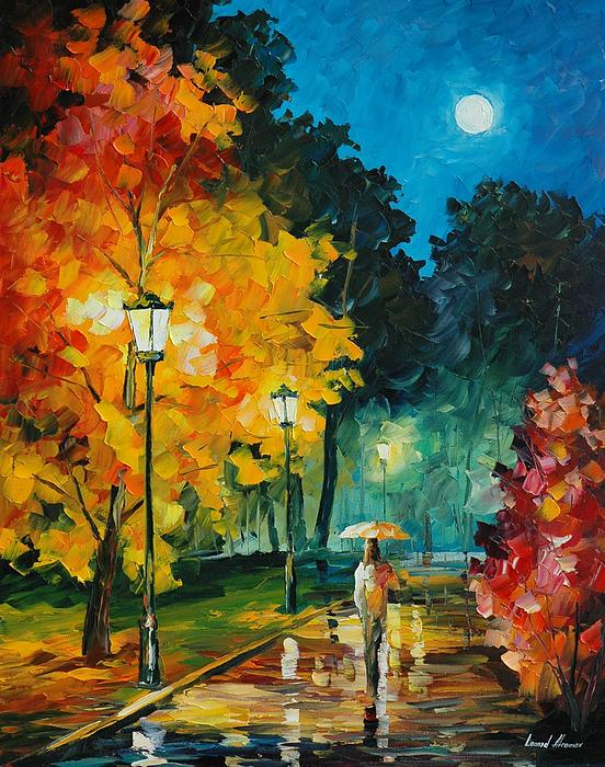 Leonid Afremov - Romantic Night