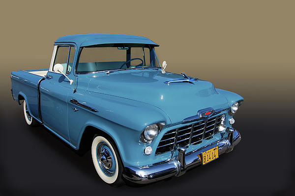 56 Chevrolet Pickup Greeting Card for Sale by Bill Dutting