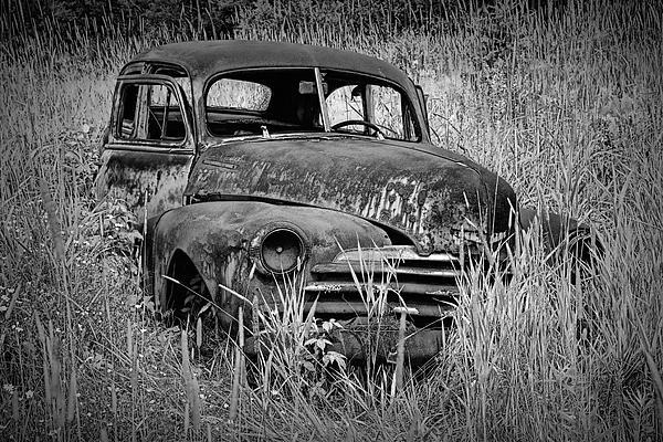 Randall Nyhof - Abandoned Vintage Car along the roadside
