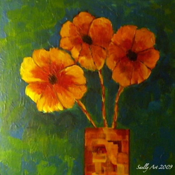 Andrew Penman - Abstract blooms