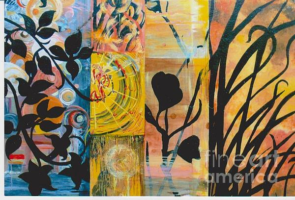 Susan  McNeil - Abstract Sunsets