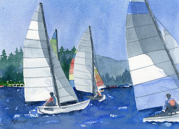 Marsha Elliott - Afternoon Sail