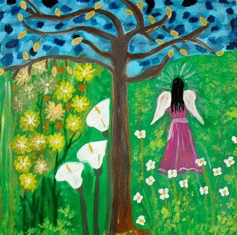 Ana Julia Fishman - Angel in the Garden