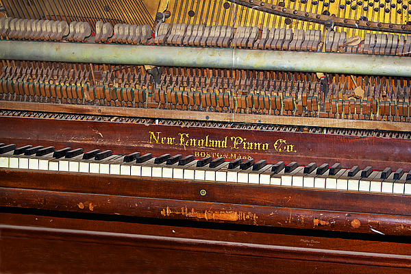Phyllis Denton - Antique Piano