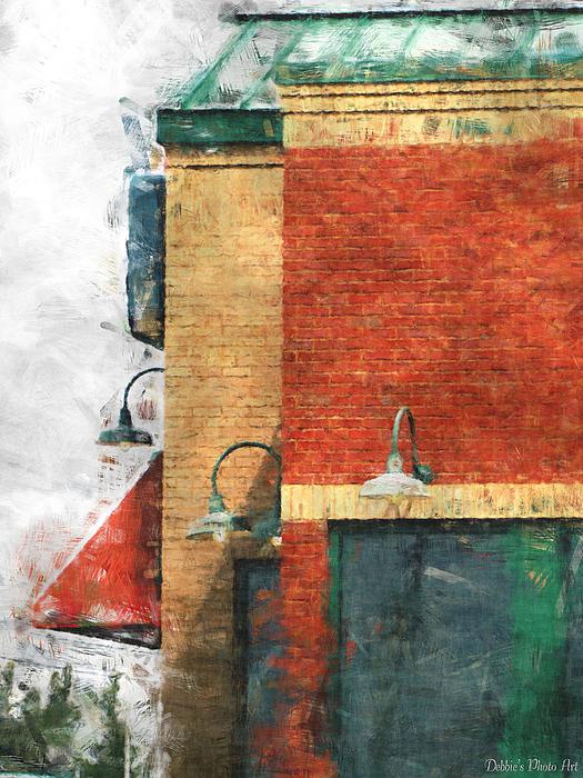 Debbie Portwood - Arcitecture  Painted effect