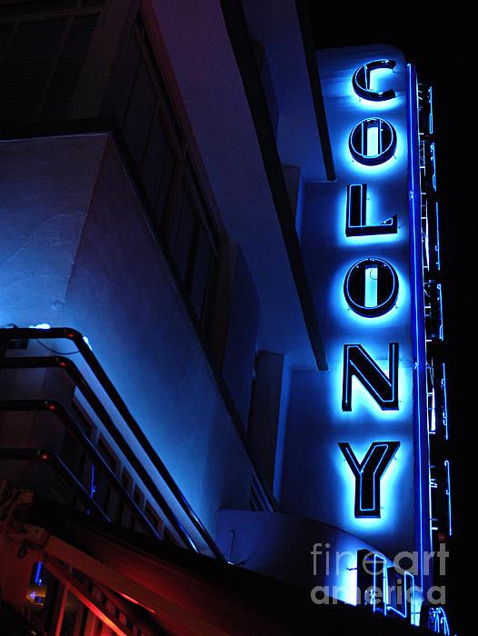 Bob Christopher - Colony Hotel Art Deco District Miami 2