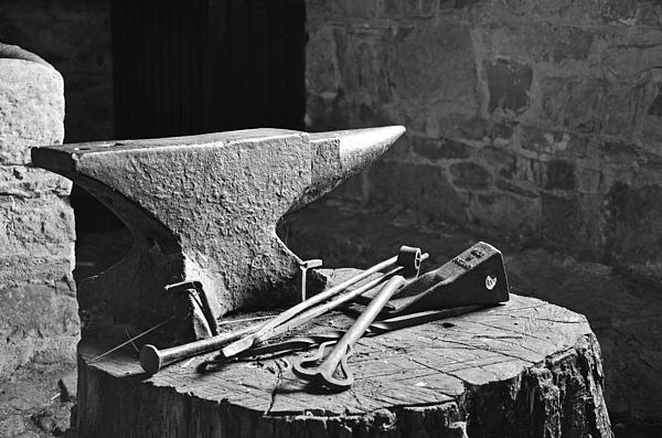 Martina Fagan - At the  blacksmiths