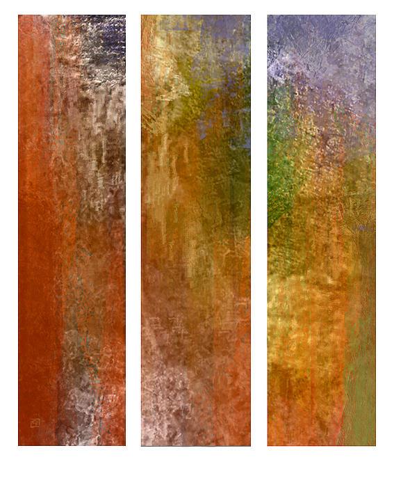 Jean Moore - Autumn Feel Triptych