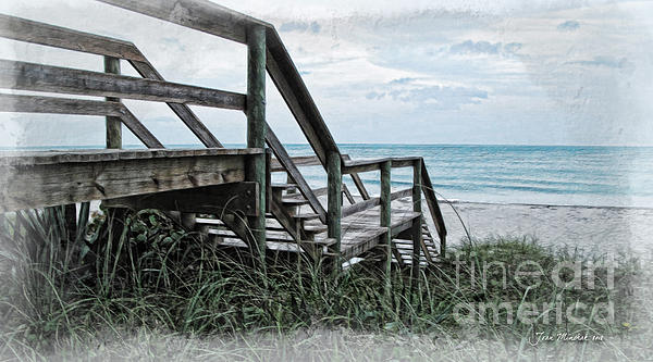 Joan  Minchak - Beach Steps