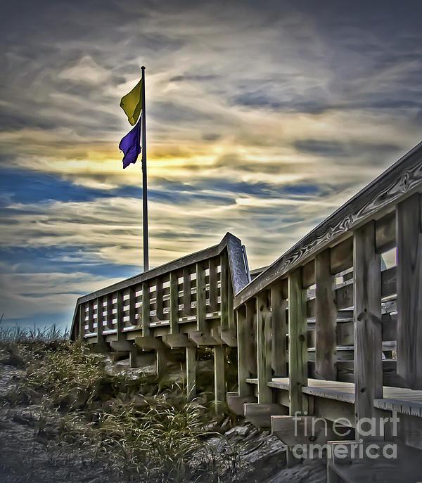 Walt Foegelle - Beach Warning Flags