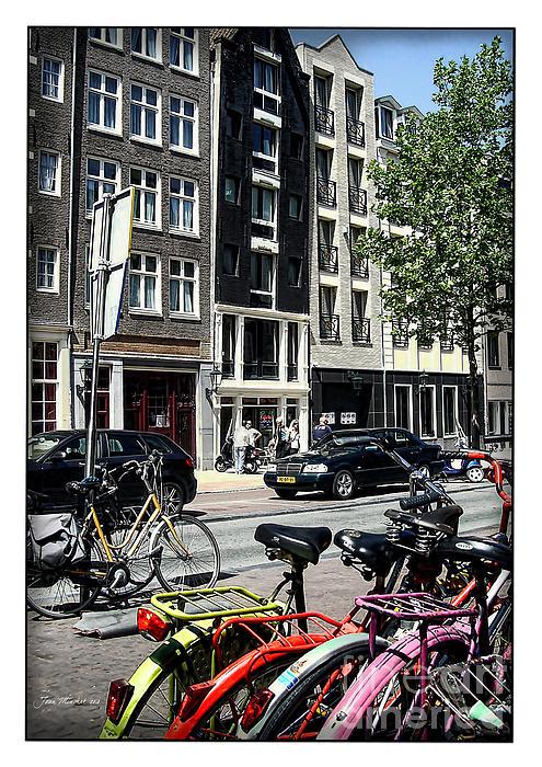 Joan  Minchak - Bikes and Amsterdam